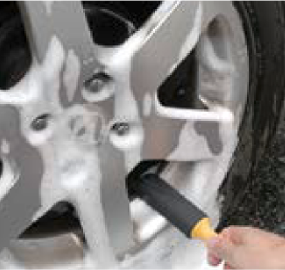 過剰なタイヤ清掃